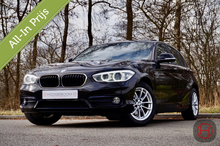 BMW 1-serie 118i High Executive /CAMERA/LEER/NAVI/SCHUIFDAK
