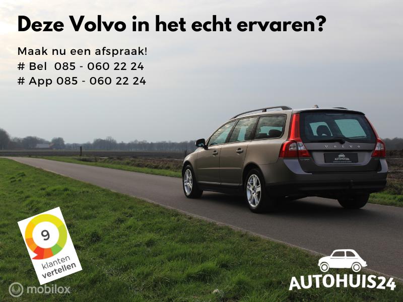 Volvo V70 2.5T 200pk Kinetic (bj2008) #Verkocht!