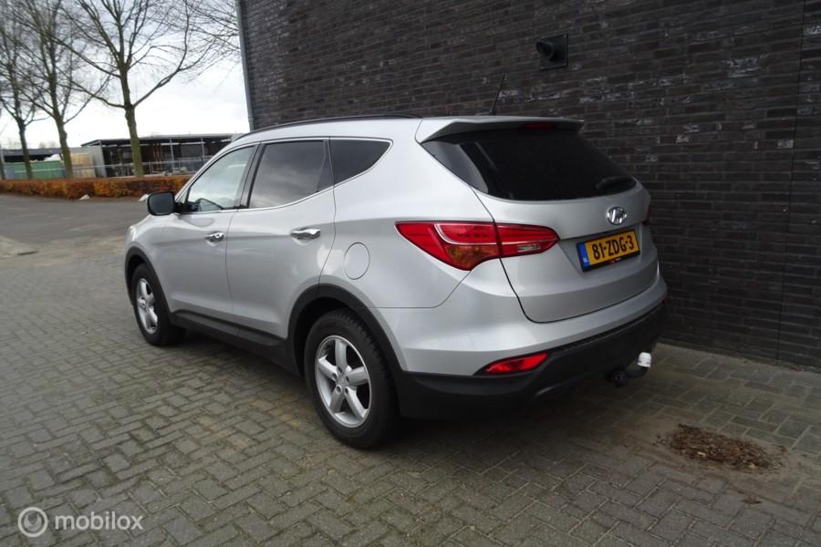 Hyundai Santa Fe 2.4i  4WD i-Catcher 7p. Leder AUTOMAAT