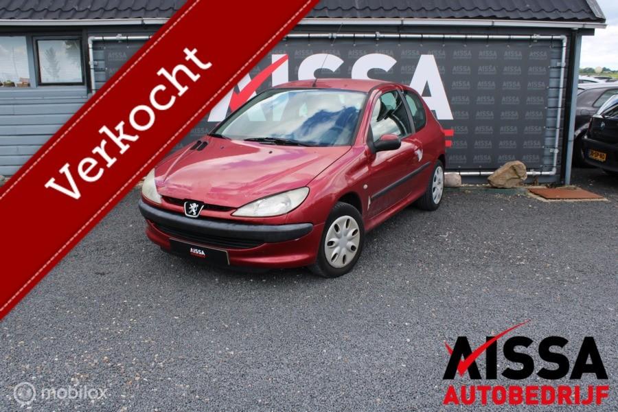 Peugeot 206 1.4 X-line Inruilkoopje APK tot 22-10-2021