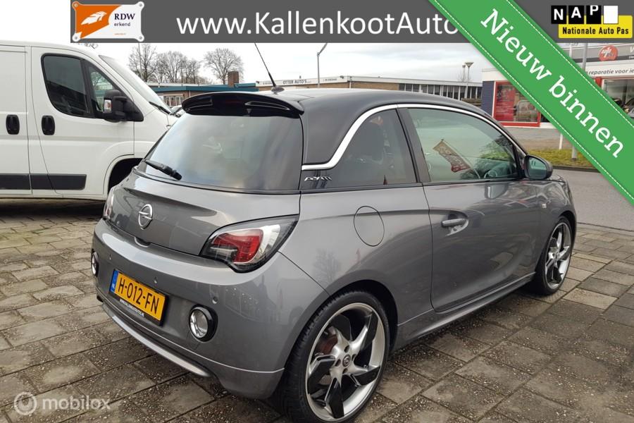Opel Adam 1.0 Turbo (115 PK), Pano, LED, Navi, Leer, 18 inch