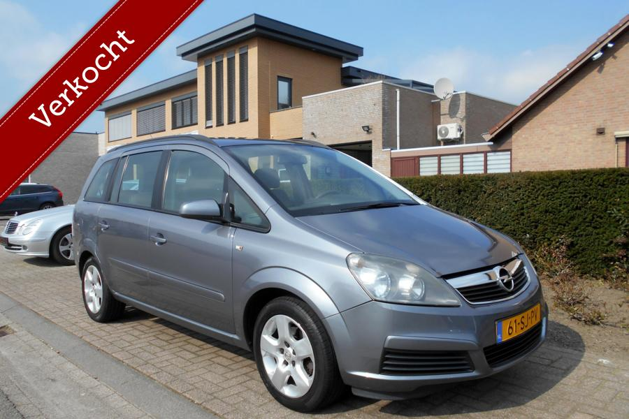 Opel Zafira 1.6 Enjoy  7-PERSOONS|AIRCO|CRUISE-CONTROL|ORIGINEEL-NEDERLANDS