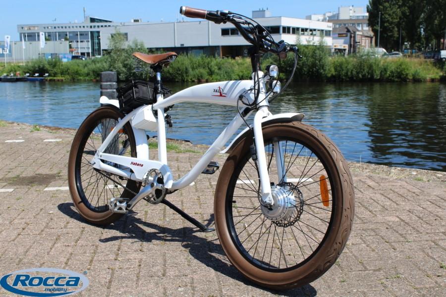 Italjet Diablo Havana  E-bike 25km/h wit metallic 2015