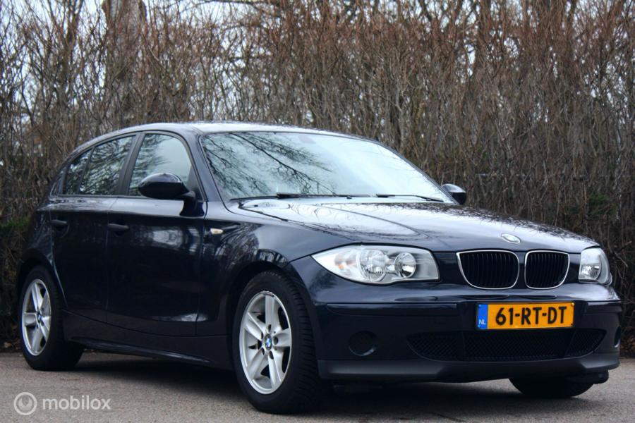 Youngtimer BMW 118i AUTOMAAT Executive Lage km/cruise/airco