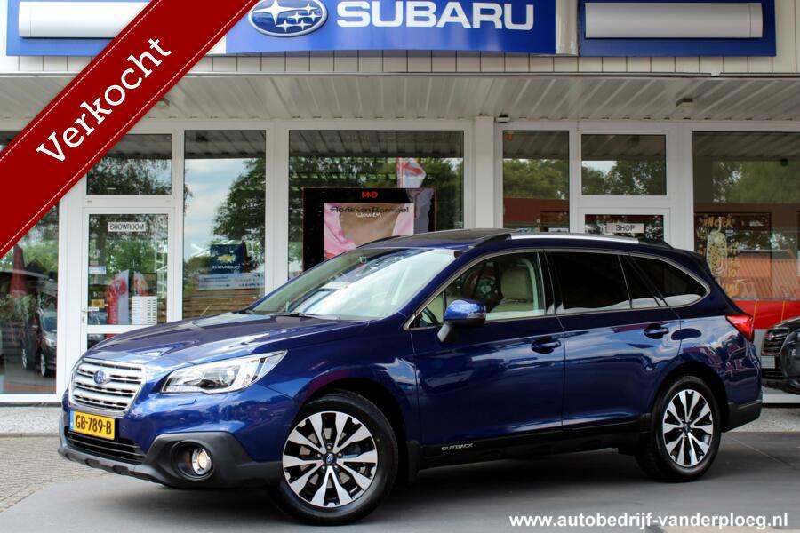 Subaru Outback 2.5i Premium Eyesight * Beige leder * Navigatie * Harman Kardon
