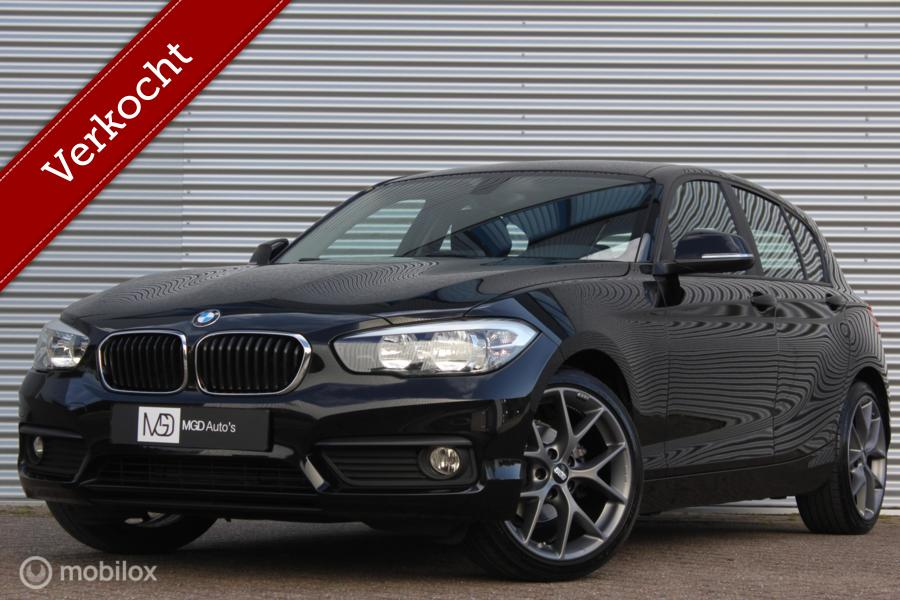BMW 1-serie 118i Sport /LED/CRUISE/STOELVERW./BLUETOOTH/BBS 18''/PDC!