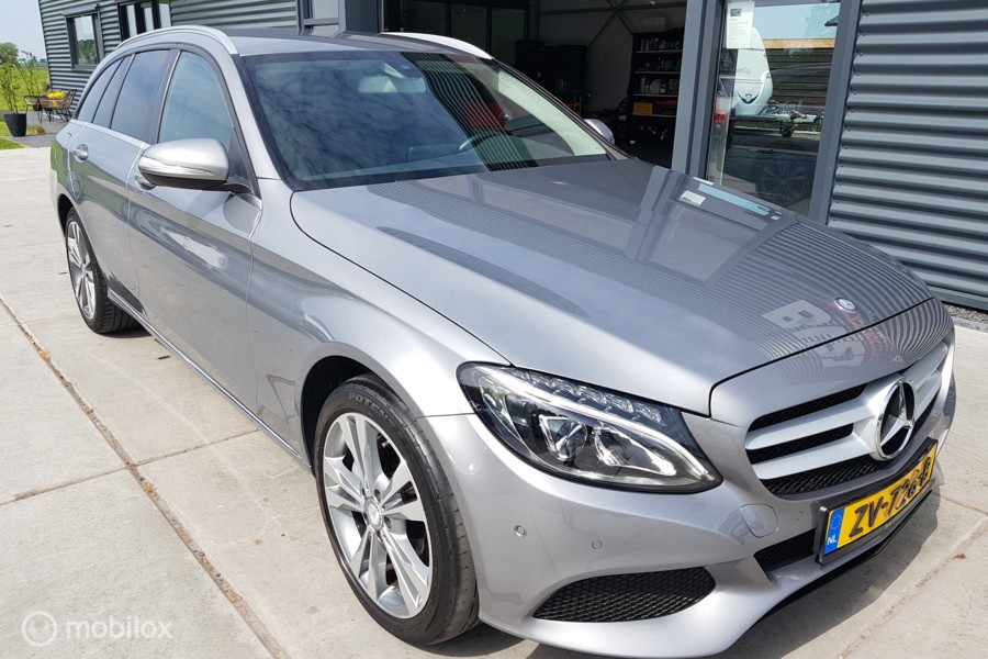 Mercedes C-klasse Estate 250 CDI Automaat Prestige AMG int. Leer, LED