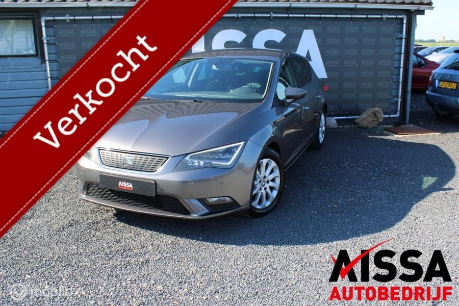 Seat Leon 1.6 TDI Limited Edition III Nieuwe APk/DAB/Navi