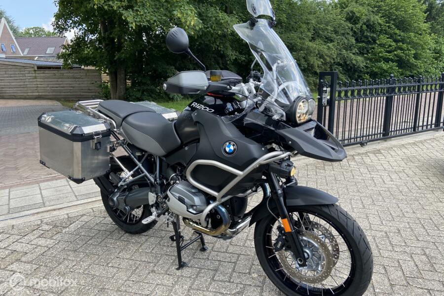 BMW R 1200 GS Adventure , Triple Black, Orig. Navigatie