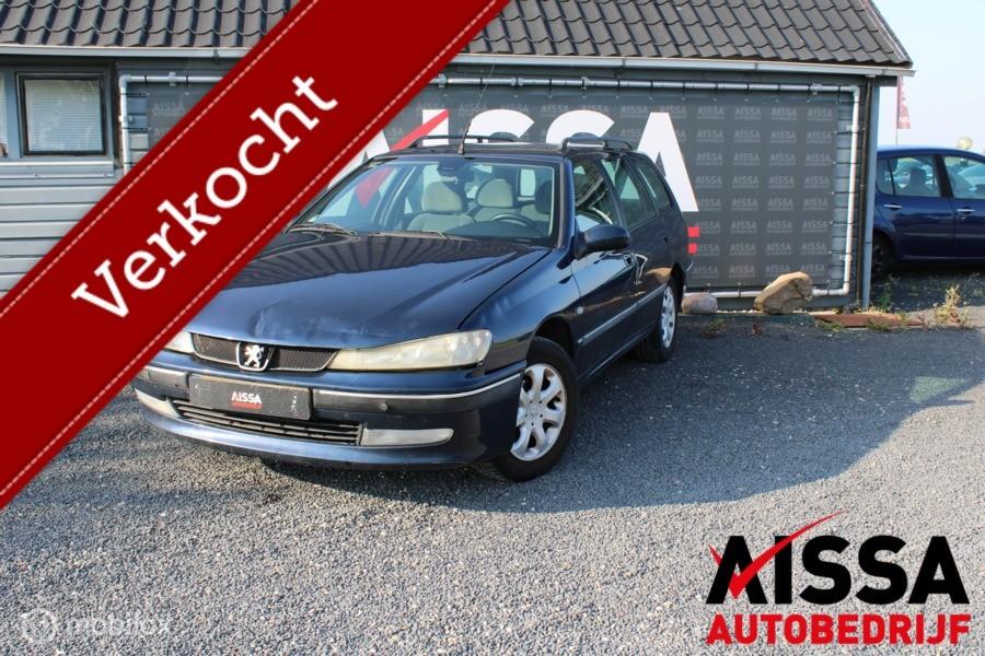 Peugeot 406 Break 1.8-16V SR APK tot 15-01-2021 Inruilkoopje