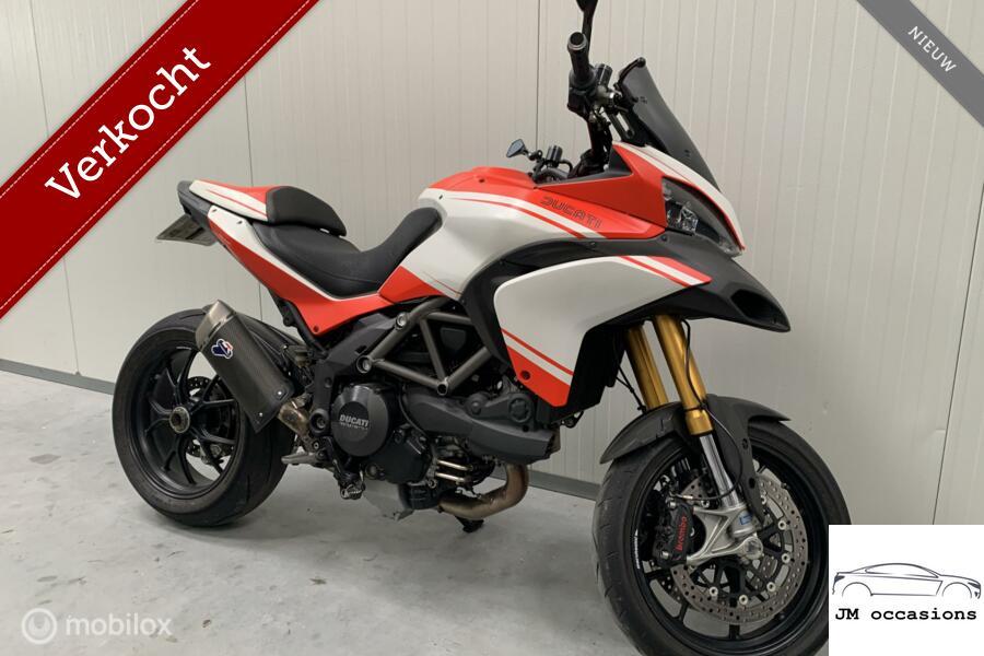 Ducati Multistrada 1200 S Touring kanon!