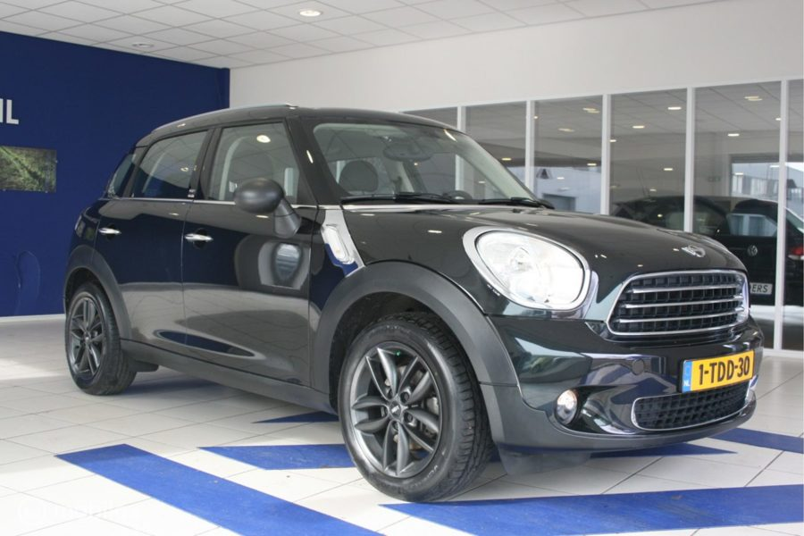 Mini Mini Countryman - 1.6 ONE HOLLAND STREET Leer Navi 6 maanden garantie