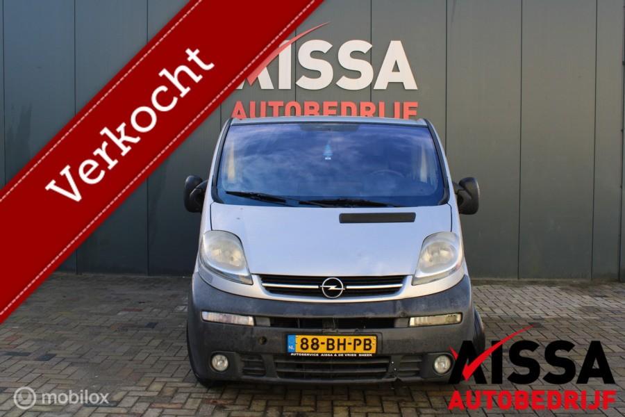 Opel Vivaro bestel 1.9 DTI L1 H1 DC APK 09-05-2021