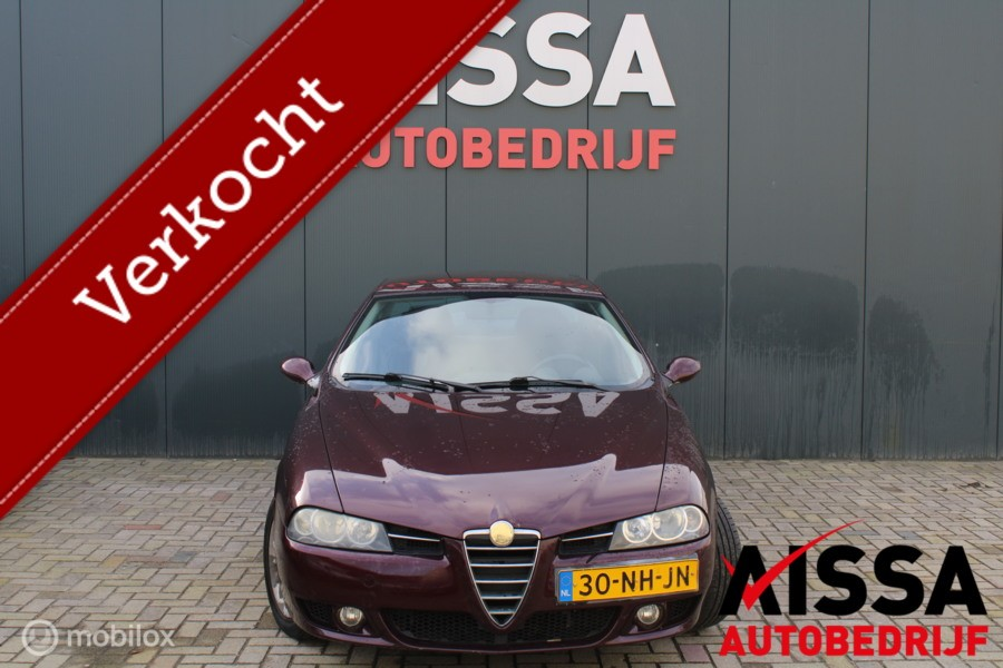 Alfa Romeo 156 1.8 T.Spark Distinctive APK 01-11-2021!!
