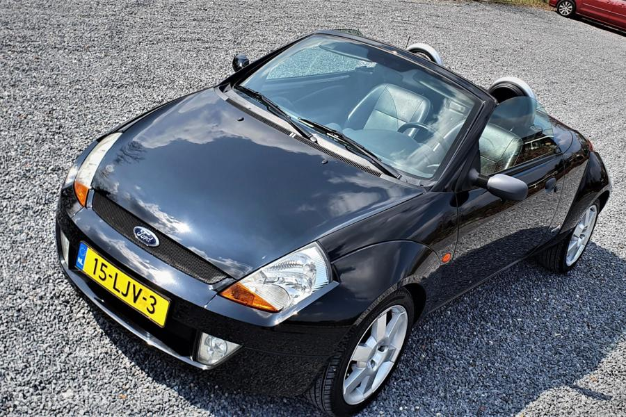 Ford Streetka 1.6 First Edition, Airco, Leer.