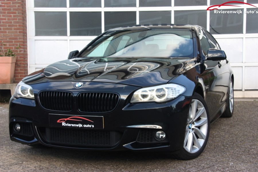 BMW 5-serie 535d High Executive 313PK Navi Schuifdak M-Sport