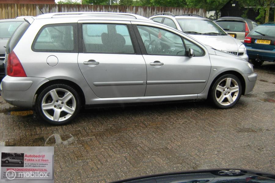 Peugeot 307 SW 2.0 HDiF Airco  7 Personen Trekh Alle inruil