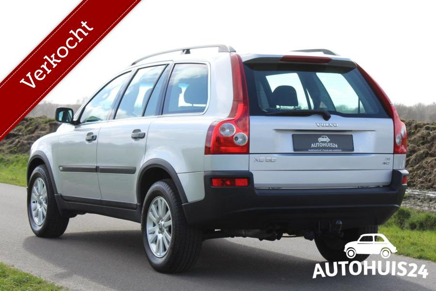 Volvo XC90 D5 AWD 163pk Kinetic (bj2004) 98dkm NAP 7-Persoons