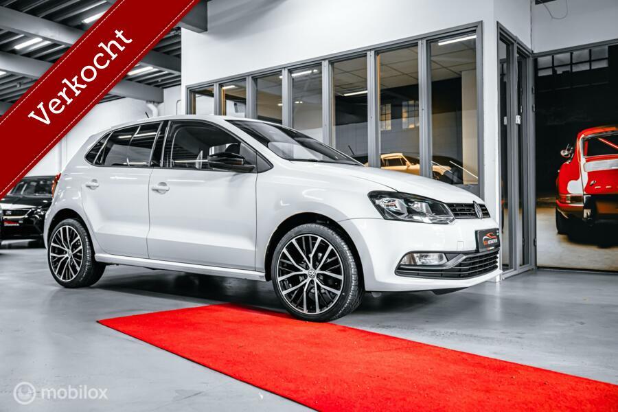 Volkswagen Polo 1.2 TSI 90 PK HIGHLINE WIT! ECC CLIMA  VOLLEDIG ONDERHOUDEN BLEUTOOTH 18'' velgen