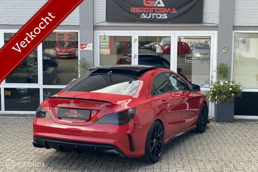 Mercedes CLA-klasse 250 OrangeArt Edition