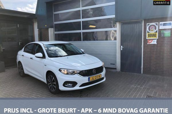 Fiat Tipo. - 1.4 16V Lounge NAVI/ECC/CRUISE *ALL-IN PRIJS