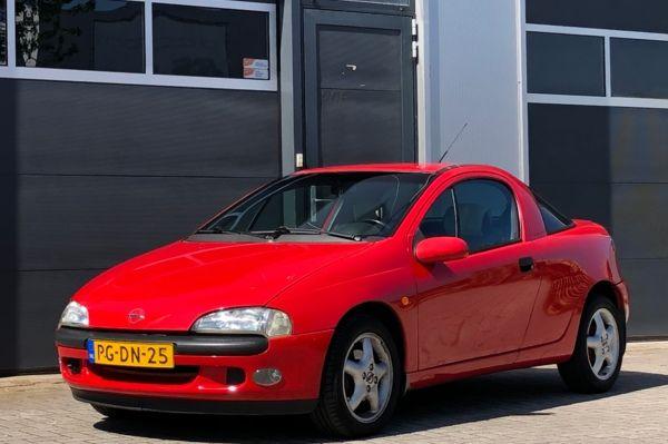 Opel Tigra 1.4i-16V Optic | hele lage kilometerstand