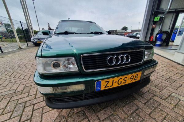 Audi Cabriolet 2.6 Pro Line Exclusive|NLauto|Youngtimer|143.008KM NAP|LEDER|NIEUWDAK|STOELVERWARMING
