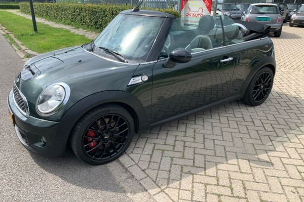 Mini Cabrio 1.6 John Cooper Works Chili ALLES EROP
