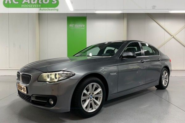 BMW 5-serie 520d High Executive TREKHAAK-INCL BTW-HEAD UP