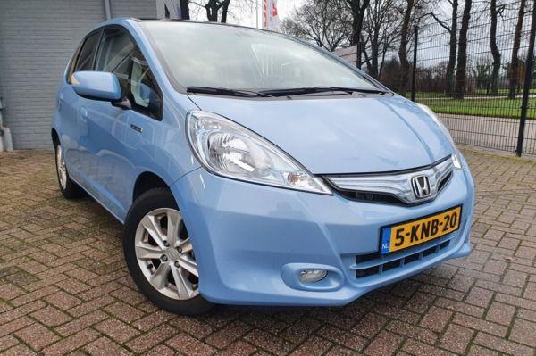 Honda Jazz 1.4 Hybrid Comfort|2013|68.940KM|Navi|trekhaak|panorama|NLauto|BOVAG garantie|