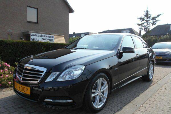 Mercedes-Benz E-klasse E200 AUT. Avantgarde NAVIGATIE|PRE-SAFE|STOELVERWARMING|XENON|LED|ACHTERBANK-NEERKLAPBAAR