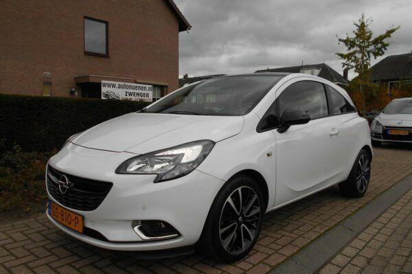 Opel Corsa 1.0 Turbo BI-Color Edition INTELLILINK-BLUETOOTH|AIRCO|DAB-RADIO|CRUISE-CONTROL|PARKEERSEN