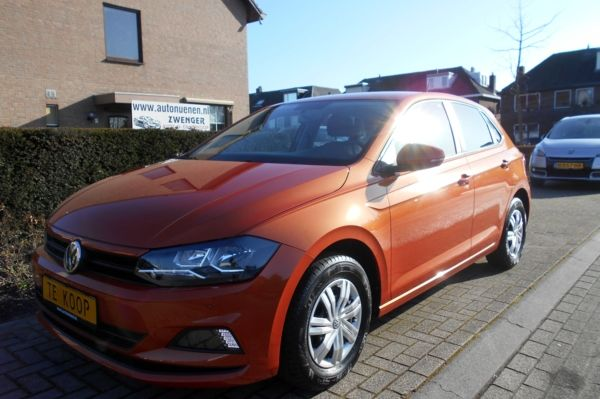 Volkswagen Polo 1.0 MPI 5-DEURS|AIRCO|CRUISE-CONTROL|STUURBEDIENING|LED-VERLICHTING|NIEUW-MODEL