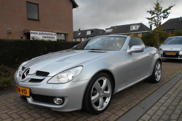 Mercedes-Benz SLK-klasse 280 V6 AUT. AIRSCARF|NAVIGATIE|XENON|STOELVERWARMING|PARKEERSENSOREN|FACELIFT-MODEL|GOED-O