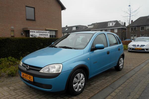 Opel Corsa 1.2-16V 5-DEURS|STUURBEKRACHTIGING|CENTRALE-DEUR-VERGRENDELING