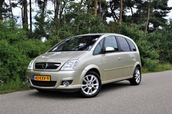 Opel Meriva 1.4-16V Edition CLIMATE CONTROL STOF/LEER PARKEERSENSOREN ACHTER NL-AUTO
