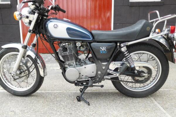 Yamaha SR 500 in prachtige staat