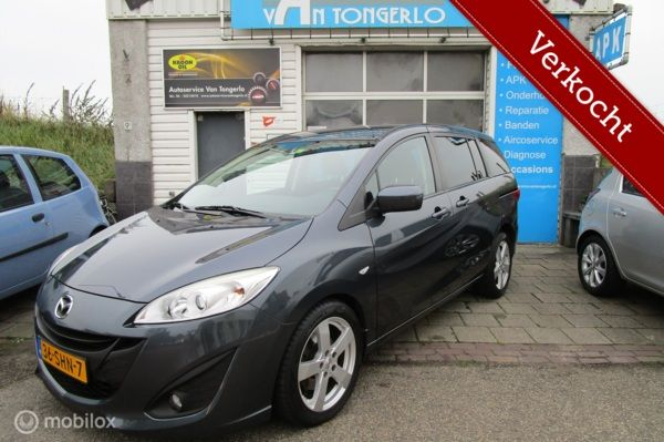 Mazda 5 2.0 TS 7 Pers Nw Model Climate Cruise Navi VERKOCHT!