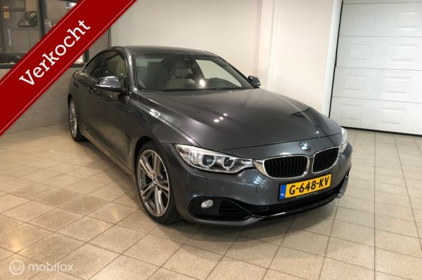BMW 4-serie Coupé 430d Executive Sport Line AUT Vol opties!