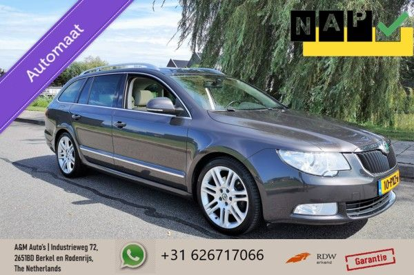 Skoda Superb Combi 1.8 TSI Elegance Business|DSG|Panorama|Leer|