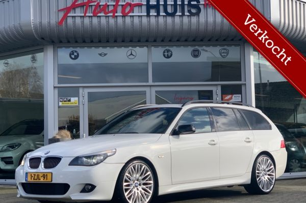 BMW 5-serie Touring 535d LCI High Executive *M-Sport* 20inch
