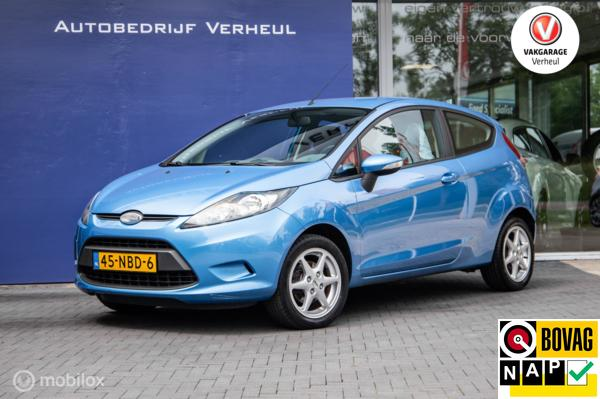 Ford Fiesta 1.25 Limited 3Drs Airco Nap Dealerauto Boekjes