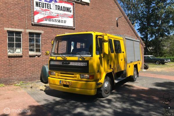 Daf f600 45 6bt cummins turbo diesel ex-brandweer ae10ct