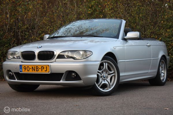 FACELIFT BMW 320Ci AUT Cabrio Executive youngtimer/topstaat