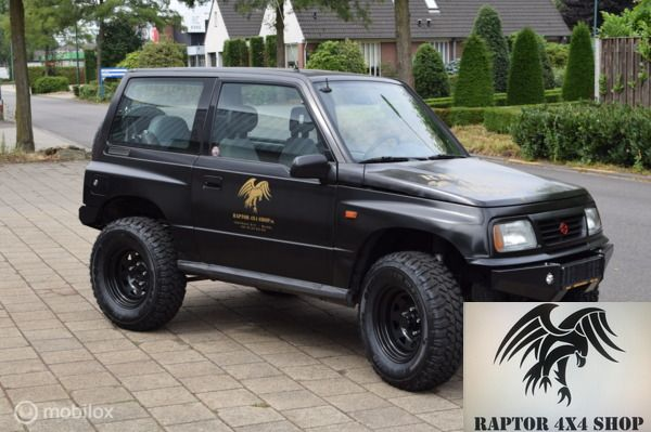 Raptor Matt Black Vitara 1.6i HardTop (Metal Top)