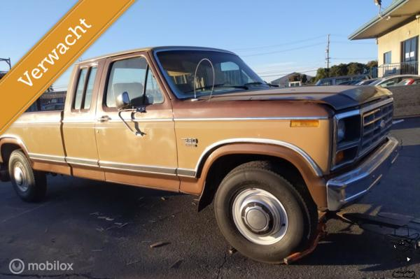 Ford USA F250 XLT Lariat pick-up