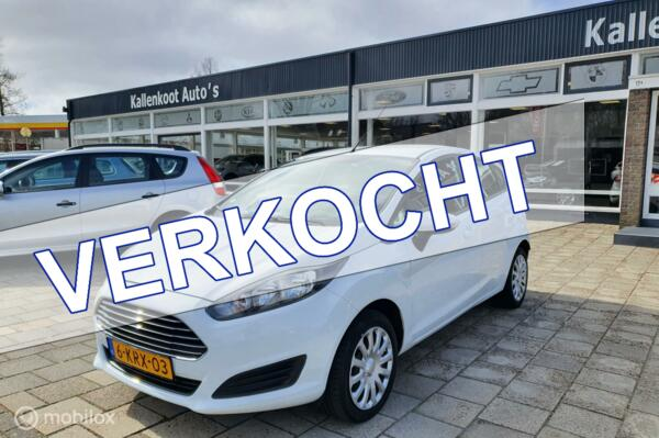 Ford Fiesta 1.0 Style, 5-Drs, Airco, 100% Onderhouden, NAP !