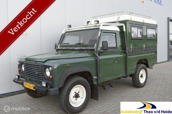 Land Rover DEFENDER 110 TD5 HCPU CAMPER