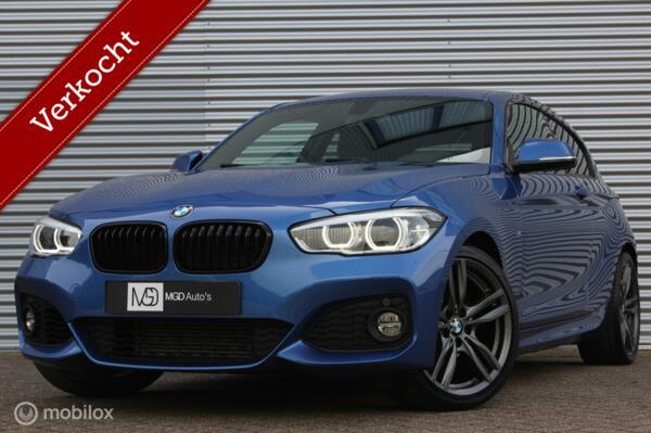BMW 1-serie 118i EDE M-Sport Automaat /XENON/LED/M-PAKKET/GROOT NAVI/STOELVERW./18'' VELGEN/PDC!
