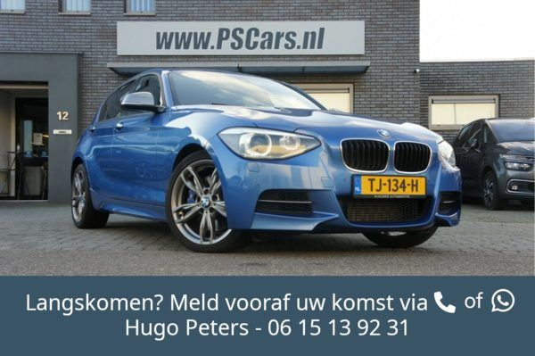 BMW 1-serie M135i xDrive H.Exec. Bluetooth/Cruise/Clima/Navi/PDC/Xenon Bel 0615139231 voor een afspraa